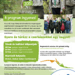 Márciusi emléktúra plakát Miskolc